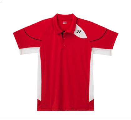 Yonex Badminton Polo Shirt M1452 Red