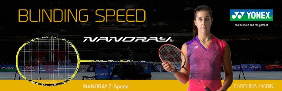Yonex Nanoray Badminton Racket Banner