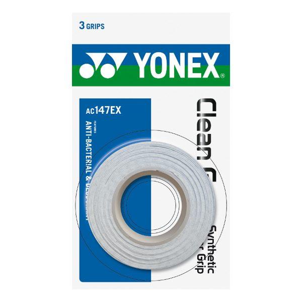 Yonex AC102EX Badminton Replacement 3 Grips White