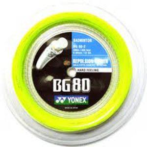 Yonex BG80 Badminton Racket String