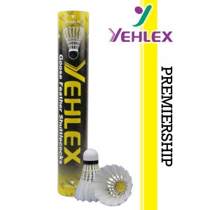 Yehlex Premiership Goose Feather Shuttlecocks