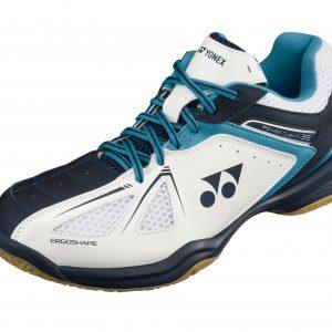 Yonex SHB35EX Badminton Shoes White/Blue
