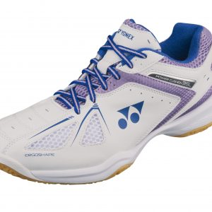 Yonex SHB35LEX Ladies Badminton Shoes White/Lavender