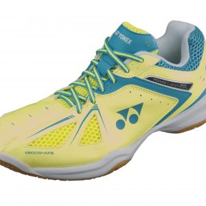 Yonex SHB35LEX Ladies Badminton Shoes Yellow/Saxe