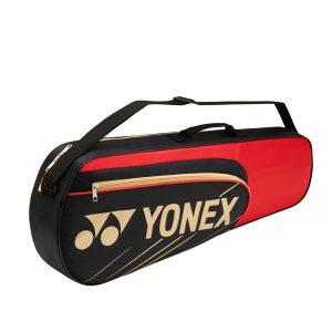 Yonex 3 Racket Badminton Bag 4723 Red