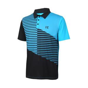 FZ Forza Boulder Badminton Polo Shirt Blue/Black