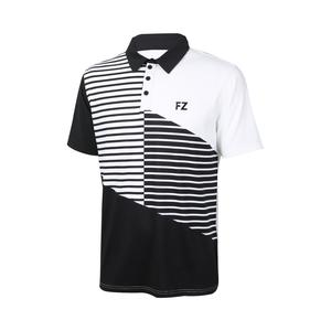 FZ Forza Boulder Badminton Polo Shirt Black/White