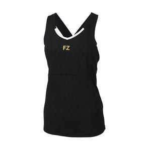 FZ Forza Brenda Ladies Sleeveless Badminton Top Black